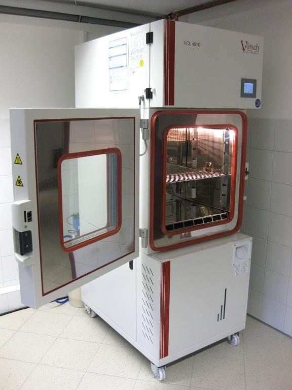 Klimakammer VCL 4010 geöffnet