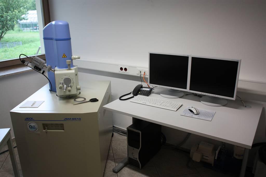 Rasterelektronenmikroskop Jeol JSM-6510QSEM